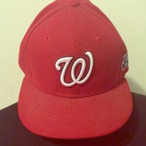 Washington Nationals Fitted Hat
